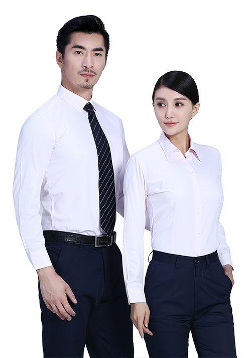 淡粉职业衬衫