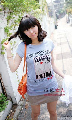 活力T恤+俏短装